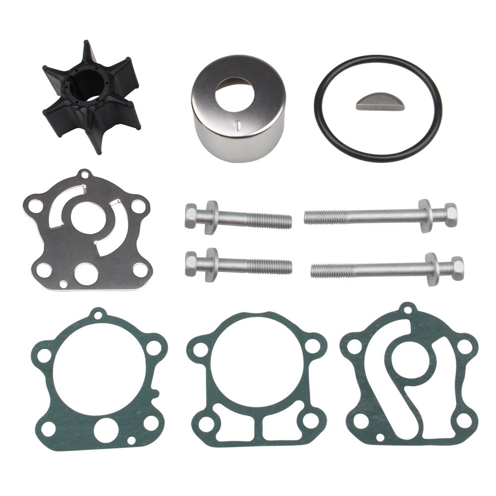 Big-Autoparts Outboard Impeller Water Pump Repair Kit for Yamaha 75-100HP Four Stroke F75 F80 F90 F100 Replace Yamaha 67F-W0078-00-00, Sierra 18-3451,GLM 12275