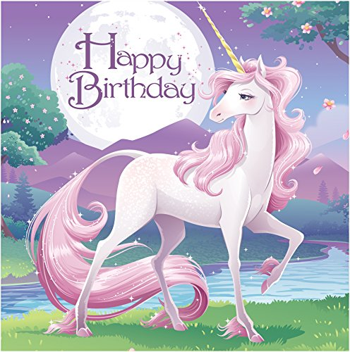 Creative Converting Birthday Unicorn Fantasy