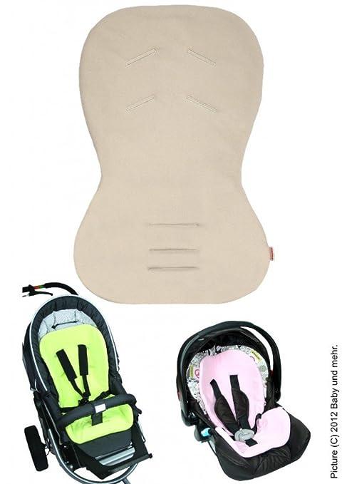 byboom® – Asiento para Baby Asiento/Moby con cara de verano e invierno, universal para portabebés, asiento de coche, por ejemplo para maxi-cosi, ...
