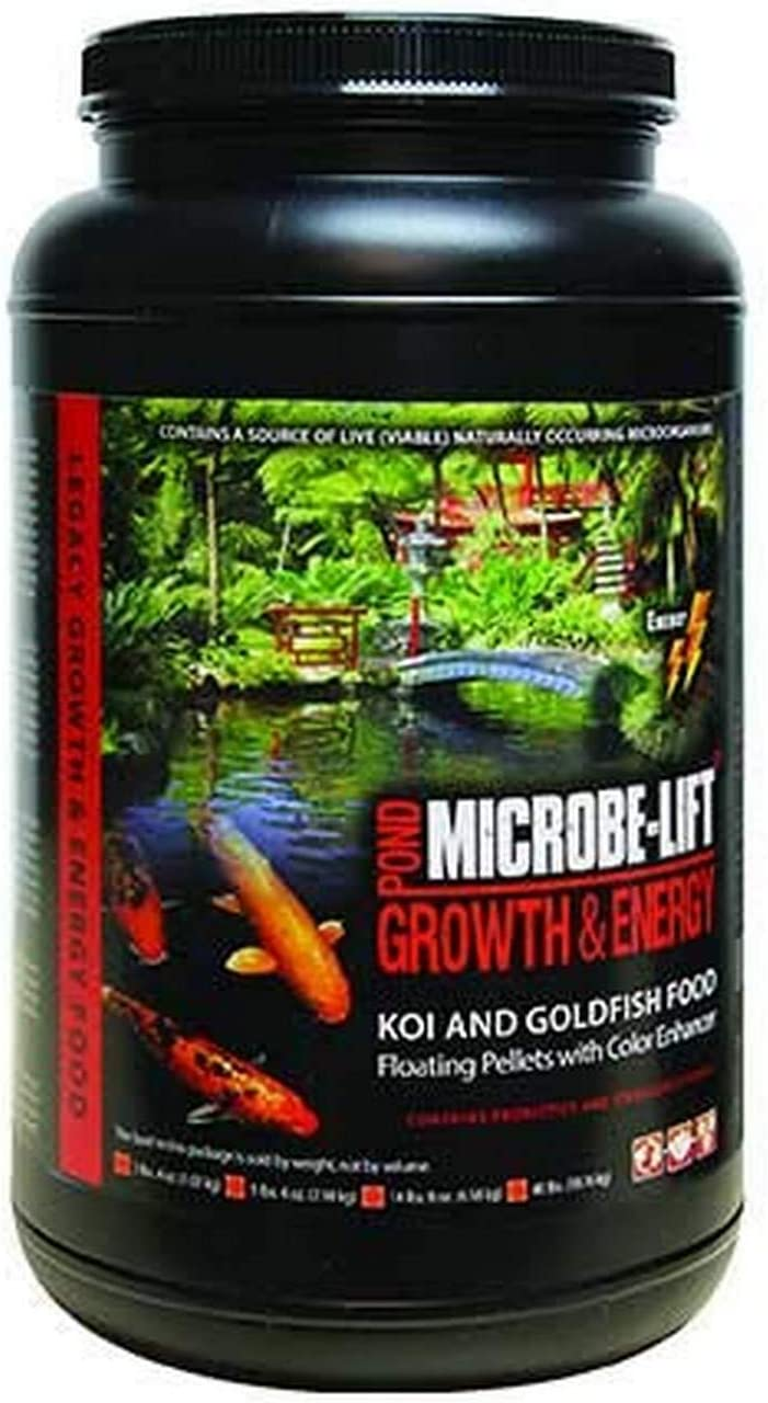 Eco Labs MLLHGEMD Growth and Energy Koi and Goldfish Food, 36-Ounce
