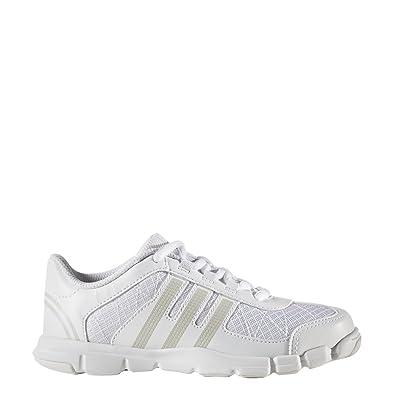 80bd049df35734 adidas Triple Cheer Shoe - Kid s Training 1 White Peach Metallic