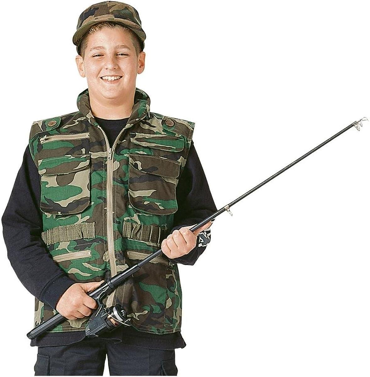 Rothco 8755 Kid/'s ACU Digital Camo Ranger Vest