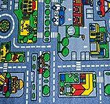 Kids Rug City Map Fun Play Rug 5' X 7' Children