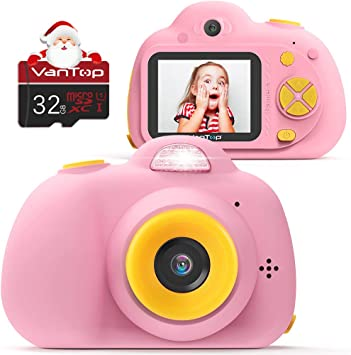 Amazon.com: VanTop Junior K5 - Cámara de vídeo para niños ...