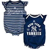 Amazon.com: New York Yankees Creeper Vestido de la Niña ...