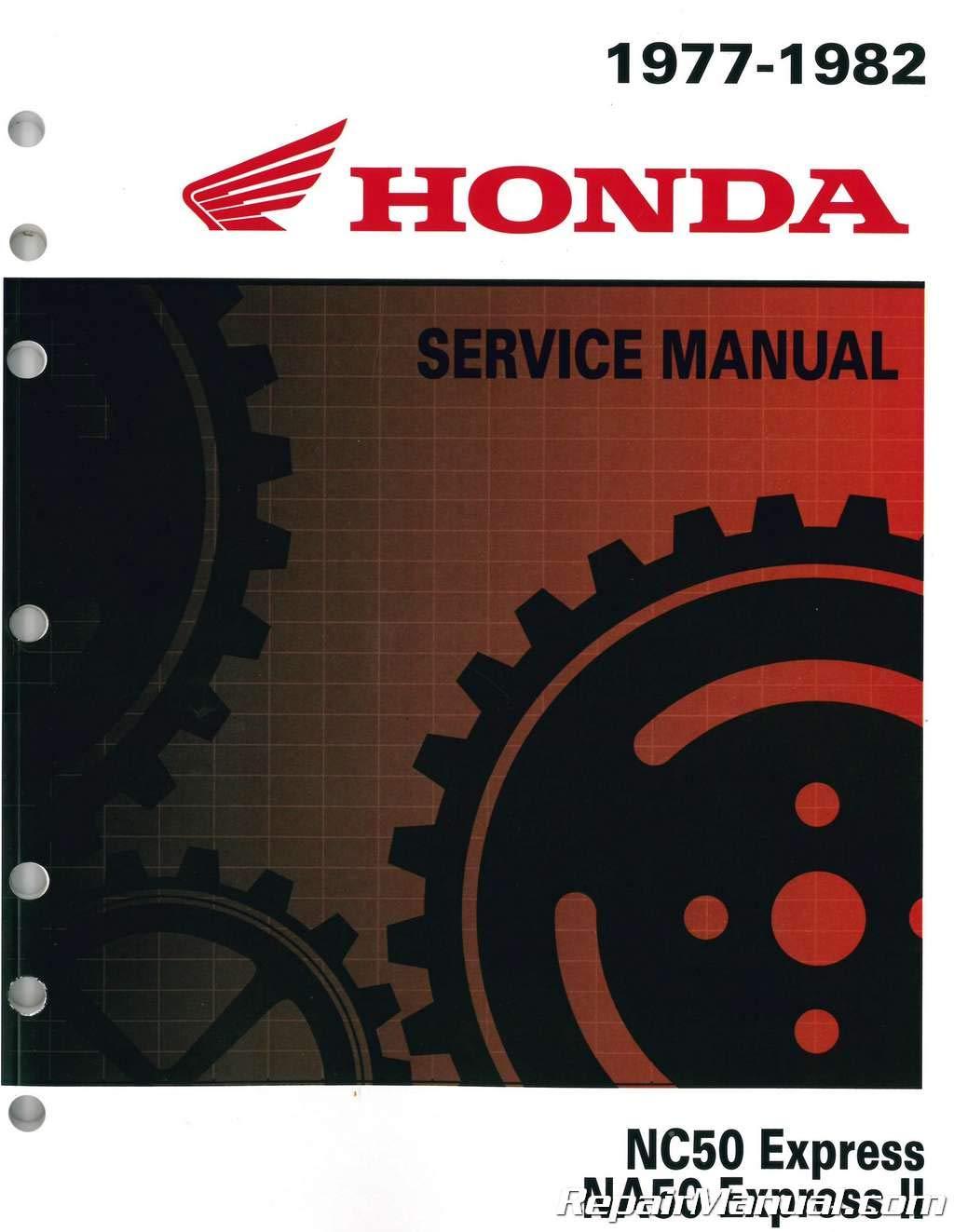 na50 wiring diagram 6114707 1977 1983 honda na nc50 express scooter shop manual by  6114707 1977 1983 honda na nc50 express