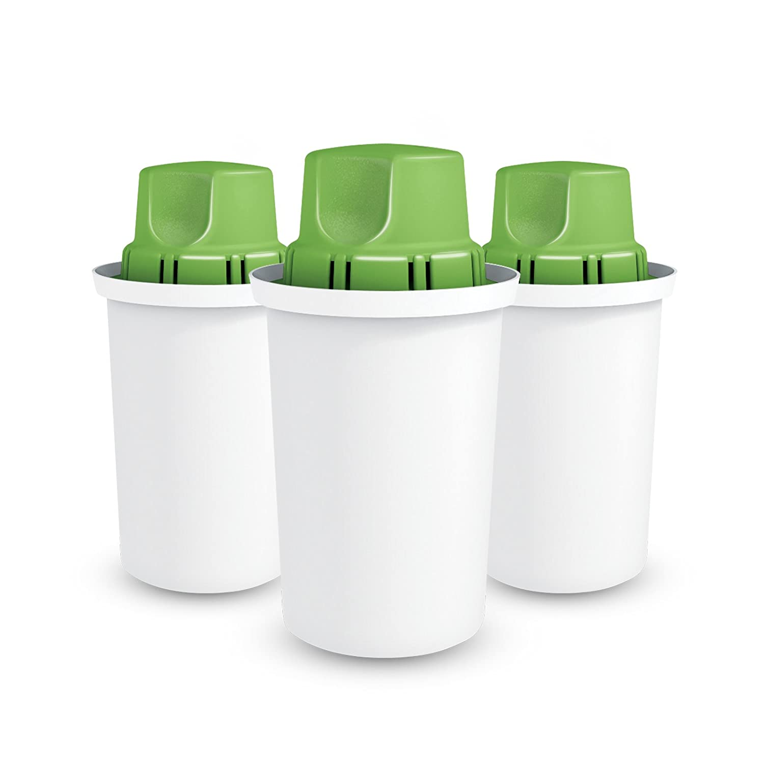 Dafi Alkaline UP Cartridge - Innovative Alkaline Water Filter System - Get water with high pH and negative OR potential (3-pack) - Fits Brita Water Pitchers