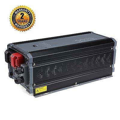 soyond 3000W Inverter Charger Dc 12v to Ac 120v Pure Sine Wave Power Inverter 9000W Surge Power: Automotive
