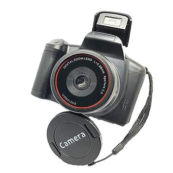 Cámara Digital XJ05 SLR Zoom Digital 4X Pantalla de 2.8 Pulgadas ...