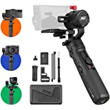 Zhiyun Crane M2 Gimbal [Official Dealer], 3-Axis Handheld Stabilizer Compatible for Sony A6000/A6300/A6400/A6500/Canon…