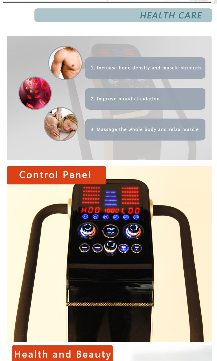 Dual Motor 1500w Professional Vibration Vibe Plate Exercise Fitness Machine by SDS Fitness