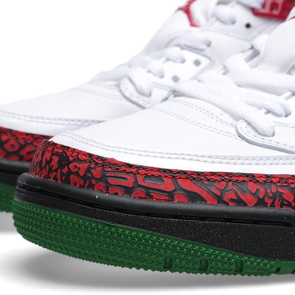 Amazon.com | Jordan Nike Air Spizike Mens Basketball Shoes 315371-125 White Varsity Red-Cement Grey-Classic Green 12 M US | Basketball