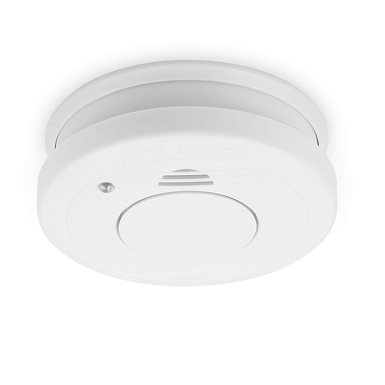 Smartwares 10.100.41 Detector de Humo, 9 V, Blanco, Set de 4 Piezas: Amazon.es: Bricolaje y herramientas