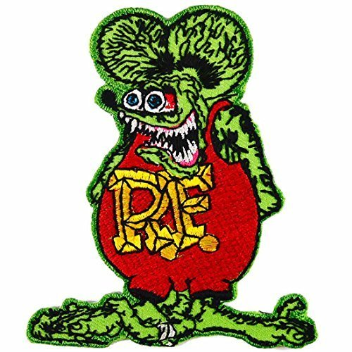 RAT FINK RF GREEN PATCHES # WITH FREE GIFT