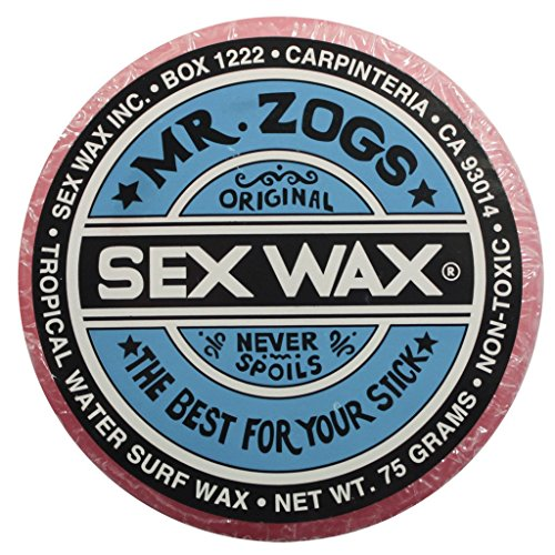 Mr. Zogs Original Sexwax - Tropical Water Temperature Strawberry Scented