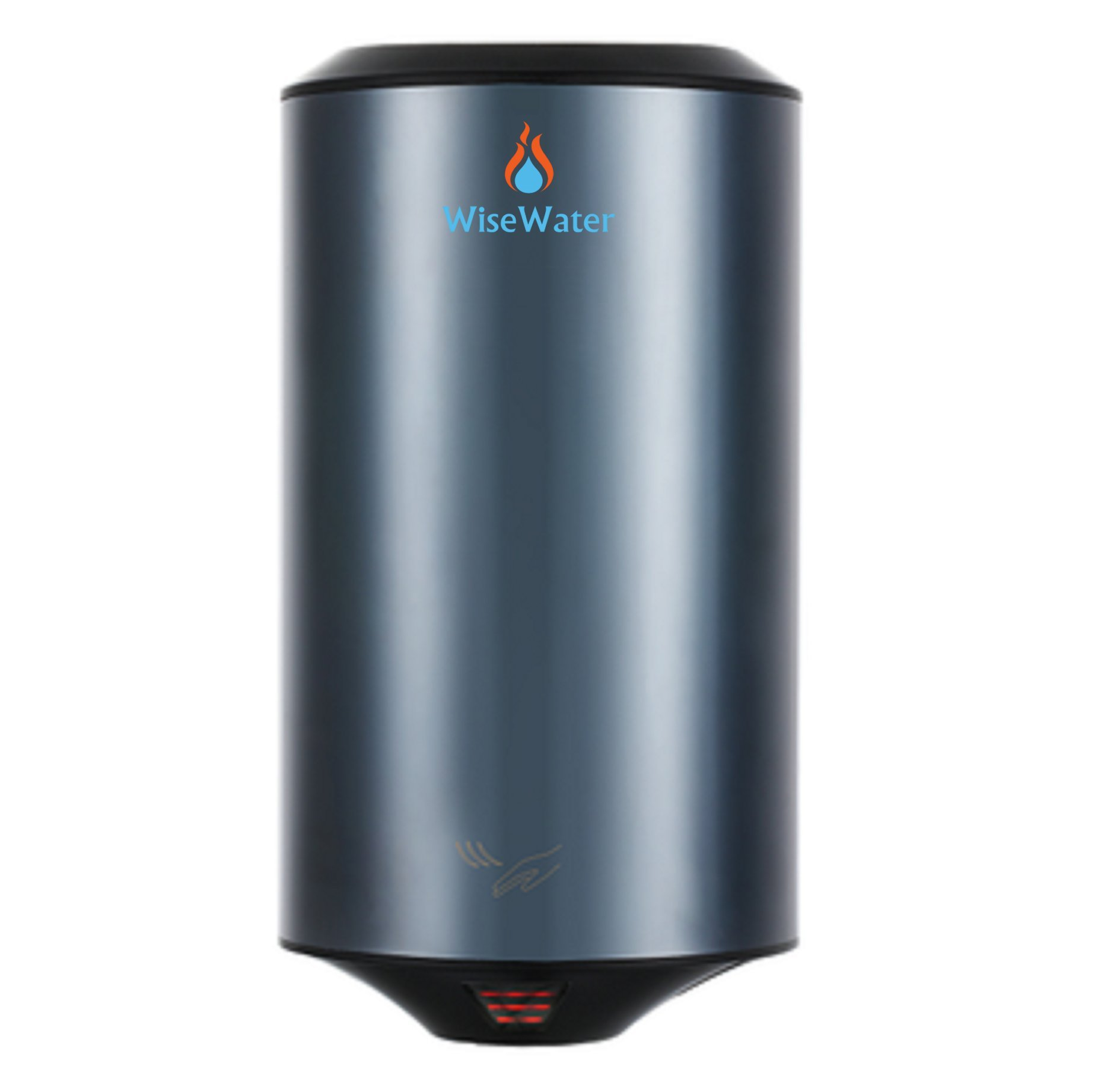 WiseWater Electric Hand Dryer Commercial 1150W Stainless Steel Cover - Dry Hands in 10 Seconds, Low Noise 72 dB for Bathrooms, Hotel, Restaurant