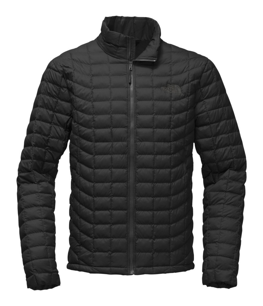 The North Face Mens Thermoball Jacket TNF Black Matte - XL