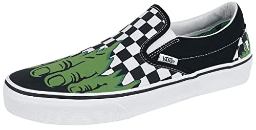 1db2e6e24551 Vans Classic Slip-On (Marvel) Spider-Man Black VN0A38F79H7 Skate ...