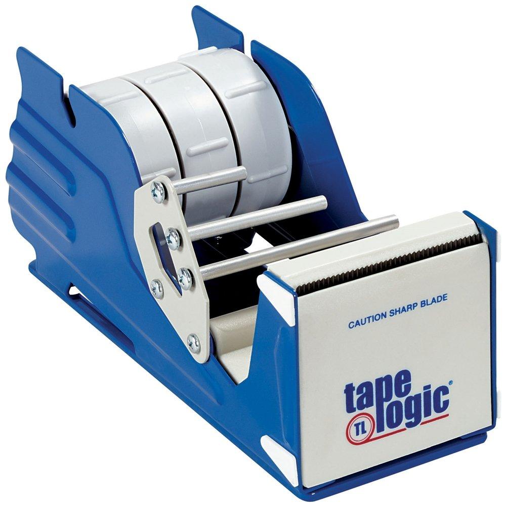 Aviditi Steel Multi Roll Table Top Tape Dispenser, 3'' Tape Diameter, Blue (SL7336) by Aviditi