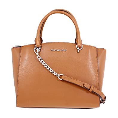 4c4ff3b6badb Amazon.com  Michael Kors Ellis Ladies Large Leather Satchel Handbag  35H7SE0S3L230  Watches