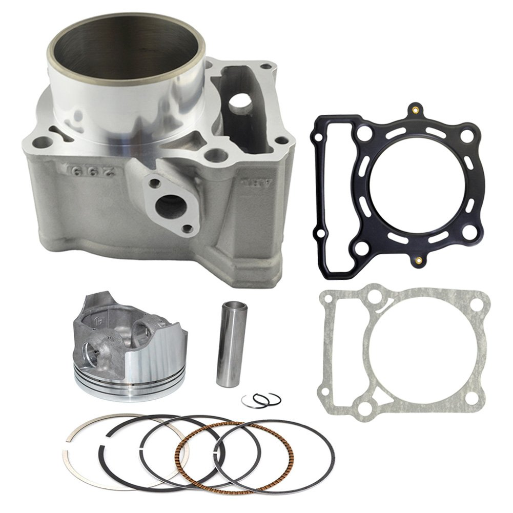 AHL Cylinder Head & Piston Kit & Gasket Set 78mm Bore for Kawasaki KLX300 1996-2007