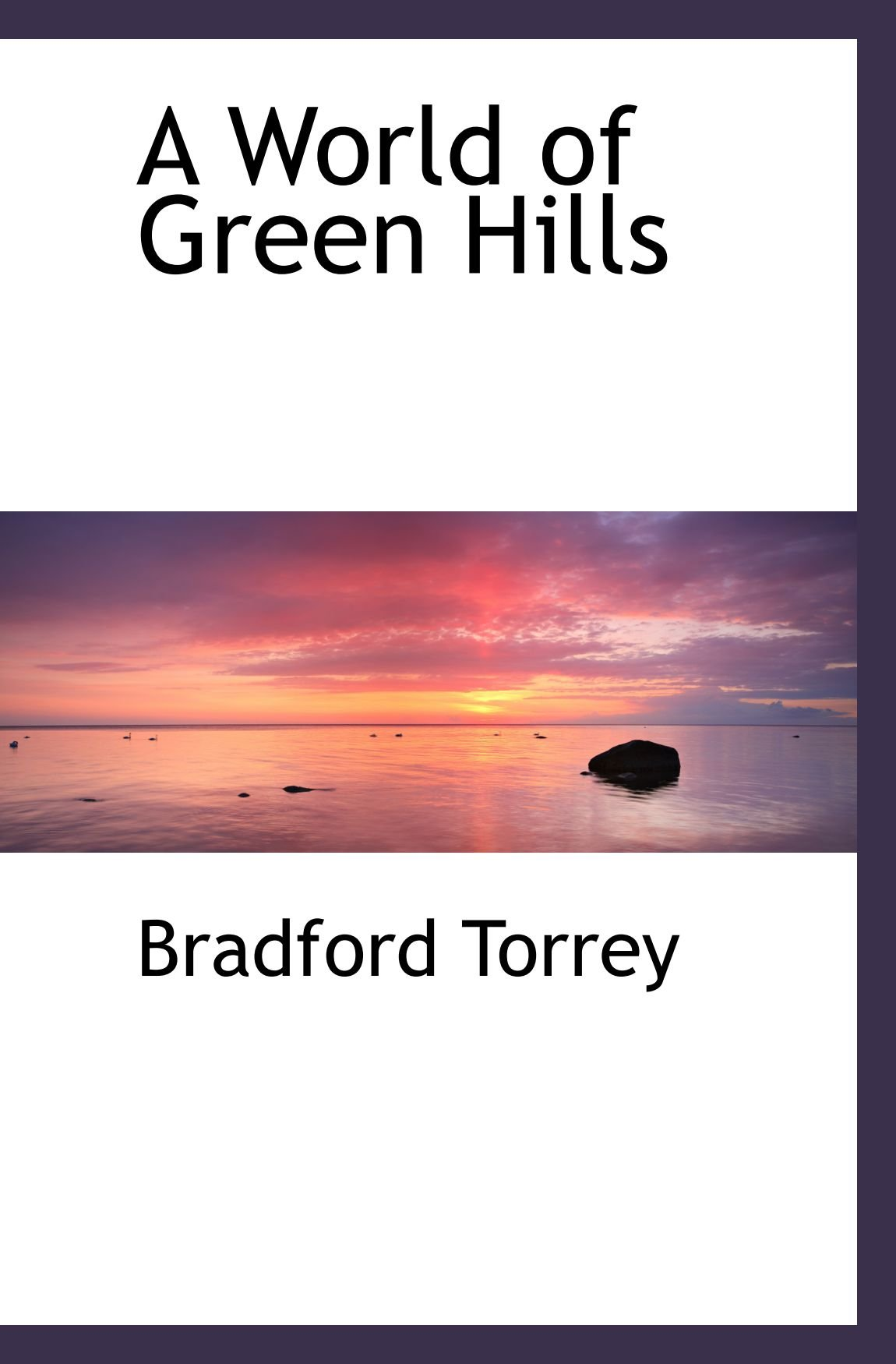 Read Online A World of Green Hills pdf epub