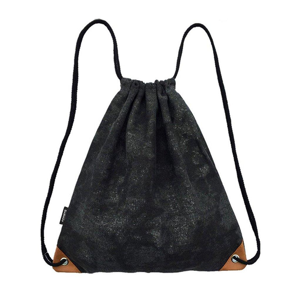 Drawstring Sackpack , ibiubiuジム袋バッグ巾着バックパックスポーツバッグ B075N86TFP