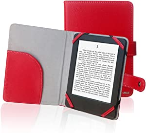 ENJOY-UNIQUE Book Style Litch Pu Leather Case Cover for 6