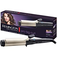 Remington CI5338 Ferro Arricciacapelli Pro Big Curl, Rivestimento in Ceramica, Diametro 38 mm, Nero, Oro