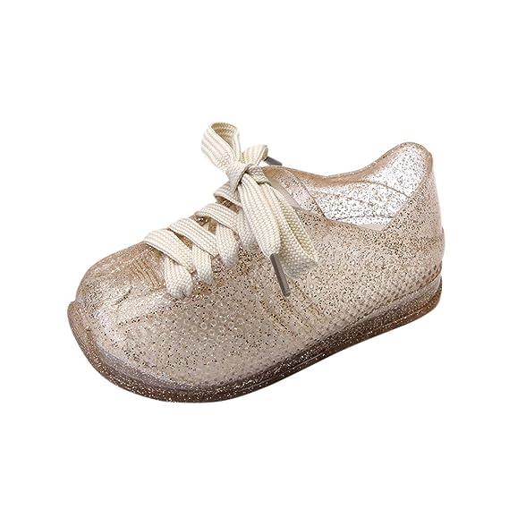 YanHoo Zapatos para niños Agujero Zapatos niños Correas Zapatos Casuales Zapatillas Zapatillas de Deporte de Moda Infantil y Deportiva para niños pequeños ...