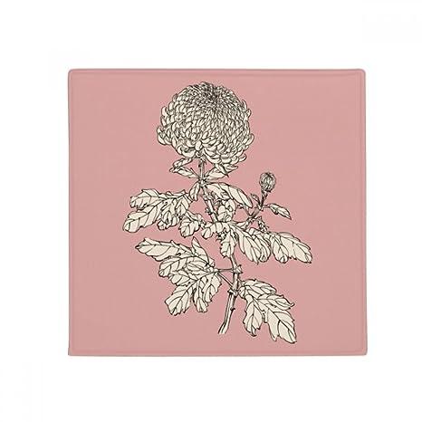 Amazon.com: DIYthinker Flower Plant Black White Chrysanthemum Anti ...