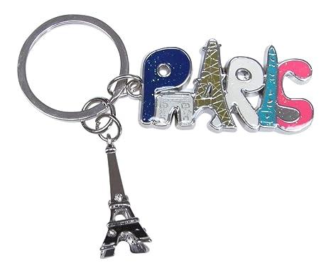 Bolsa de joyas, llavero multicolor registro Torre Eiffel de ...