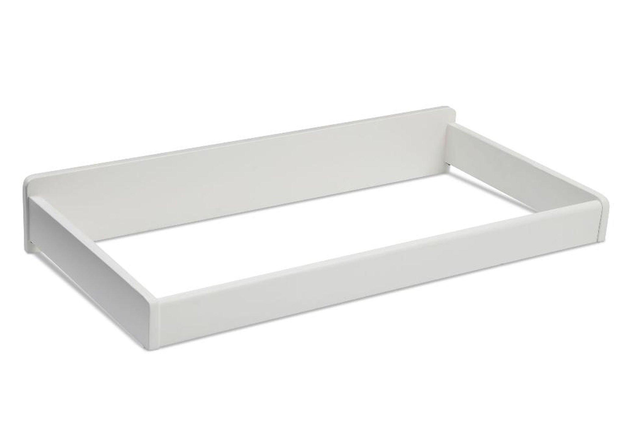 Delta Children Bennington Elite Changing Table Topper - White