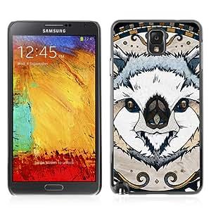 CQ Tech Phone Accessory: Carcasa Trasera Rigida Aluminio Para Samsung Galaxy Note 3 N9000 - Illustrated Koala