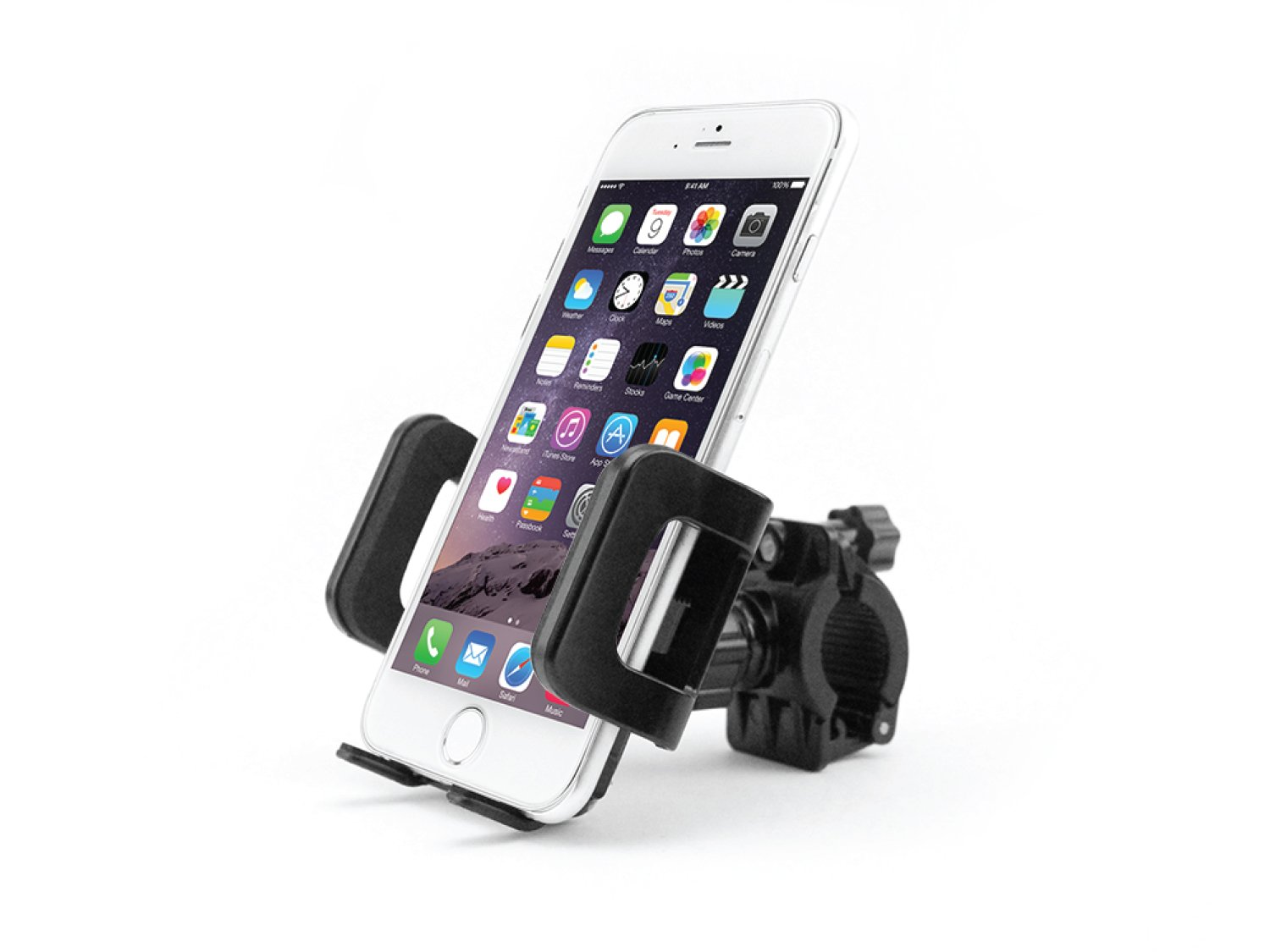 5//5s//5c Galaxy S8//S8 Plus Note 8 7//7 Plus by Cellet PHM400 Fits Most Phones Up to 3.5 Inches Wide Including iPhone X//8//8 Plus and Many More S7 // S7 Edge Smartphone Bicycle and Motorcycle Mount