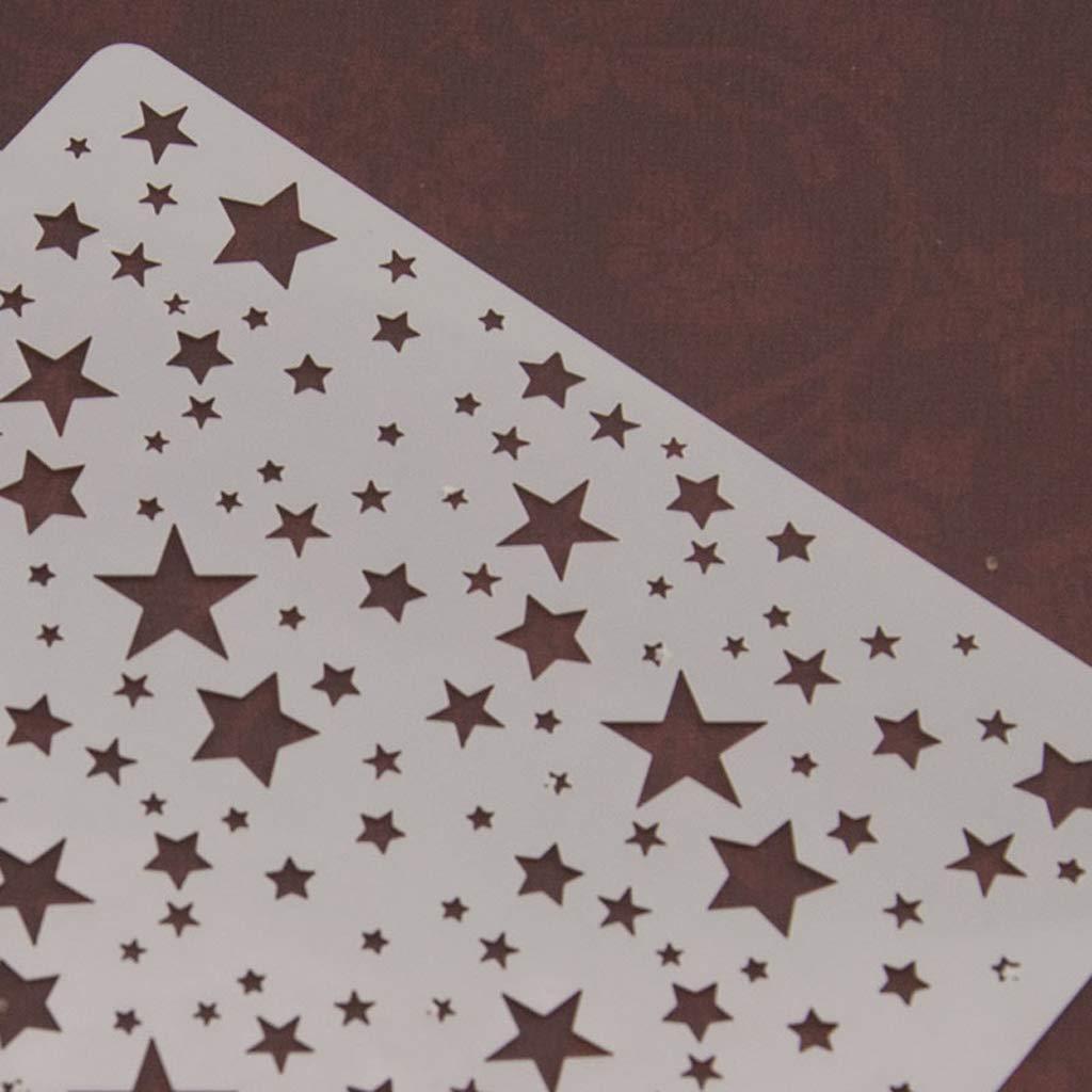 Dabixx Pittura Stencil Stencil Template Pittura murale Scrapbooking Goffratura Stamping Album Craft Card S1