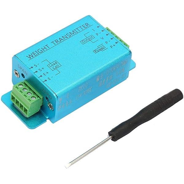 DC 12-24V 4-20mA Weight Load Cell Sensor Gauge Transducer Amplifier Transmitter