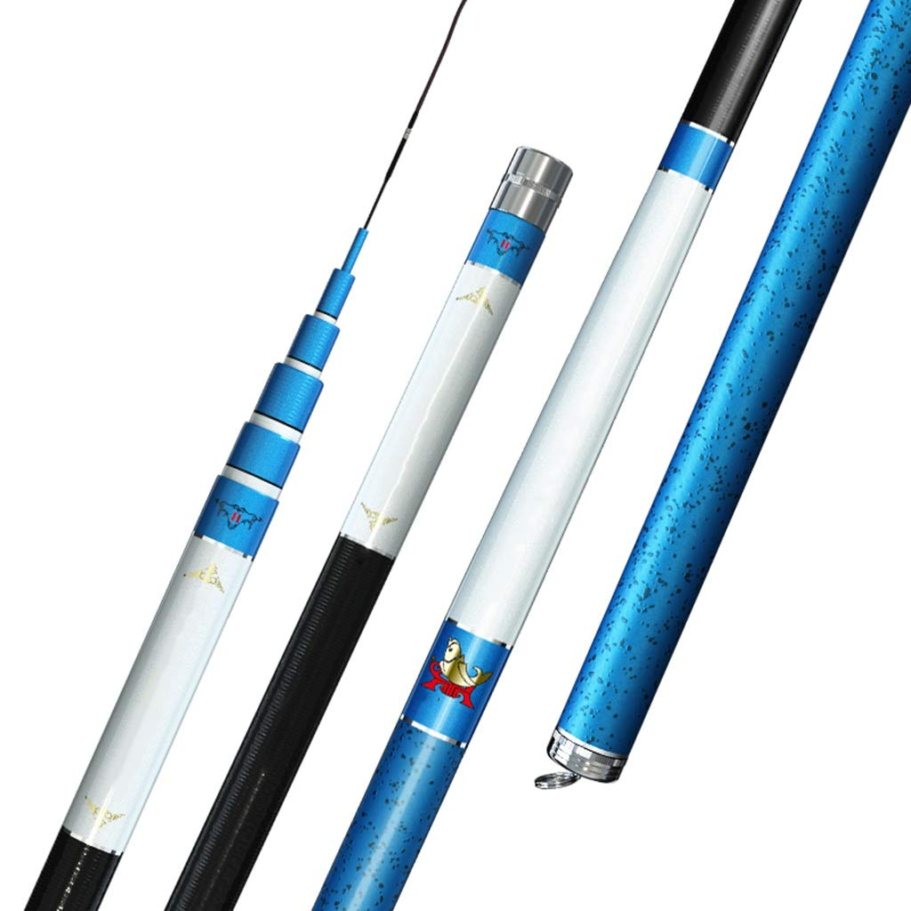 釣り竿 - 超軽量スーパーハード28調整可能な滑り止めグリップ淡水格納式釣りギア(1つだけ) (サイズ さいず : 10m) 10m  B07Q2X898V