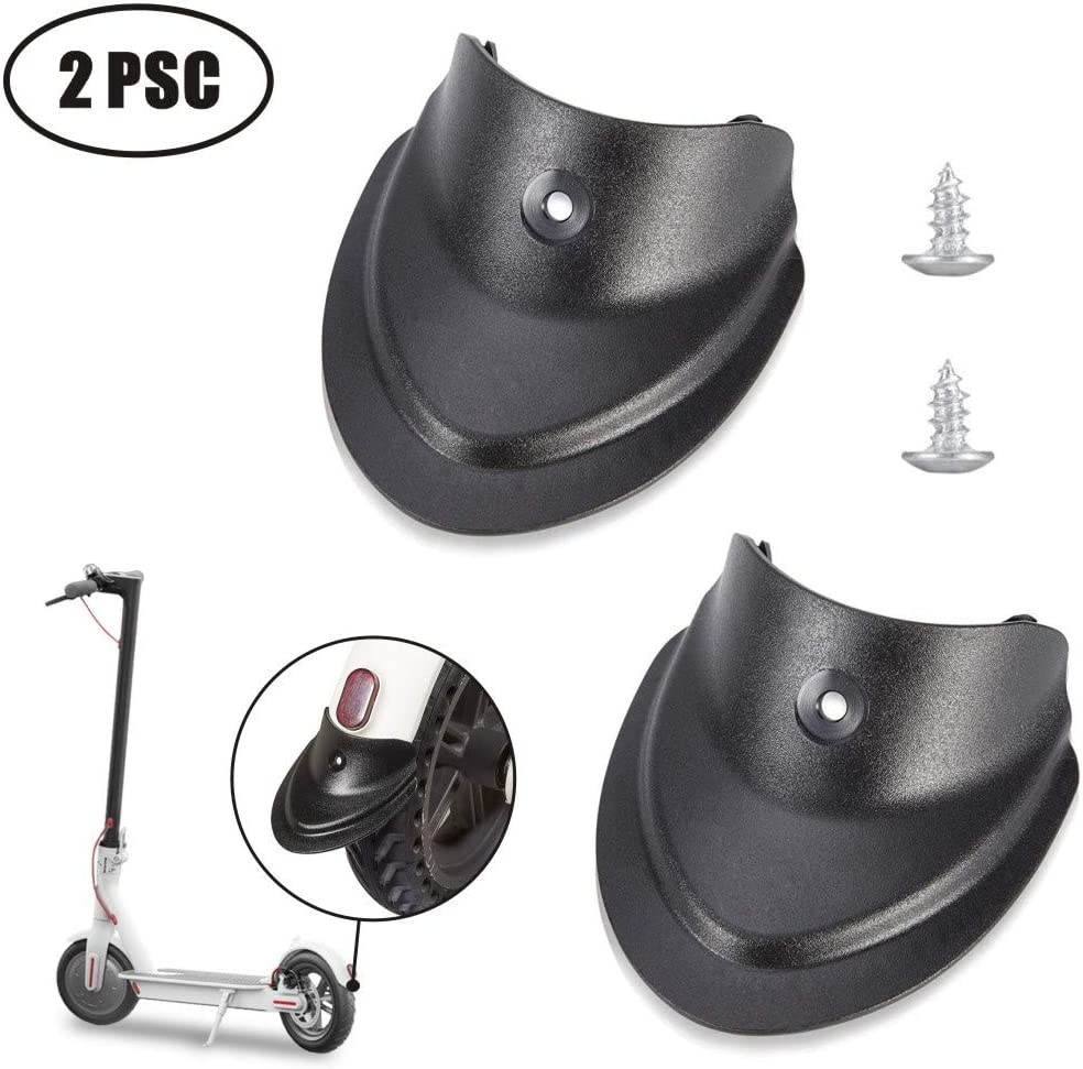 Tinke Scooter Fender Front /& Rear Fender Fish Tail Mud Splash Prevention Mudguard Bracket Accessories for Xiaomi Mijia M365//M365 pro Scooter