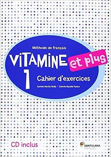 VITAMINE ET PLUS 1 CAHIER + CD - 9788490490129: Amazon.es: Aa.Vv.: Libros en idiomas extranjeros