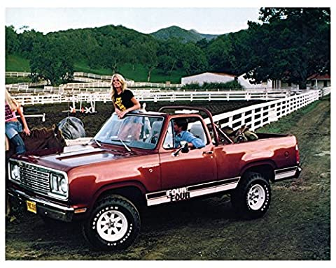 1977 Dodge Ramcharger Truck Factory Photo - Dodge Ramcharger Truck