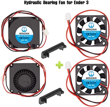 Creality Original 4010 Blower 40x40x10MM 24V DC Cooling Fan and 24V Circle Fan for 3D Printer Parts Ender 3