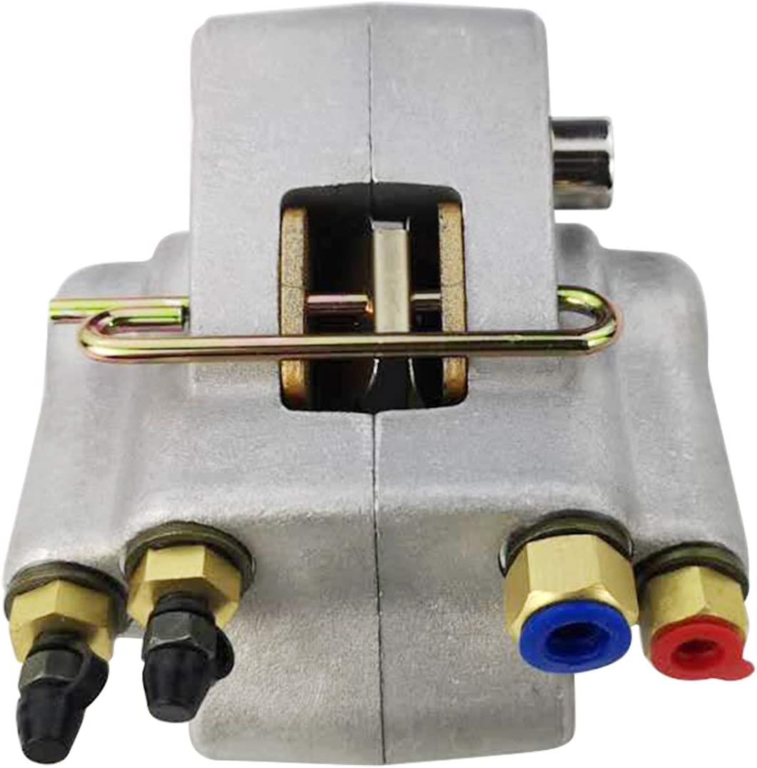 Pro Braking PBR2428-BLU-GOL Rear Braided Brake Line Blue Hose /& Stainless Gold Banjos