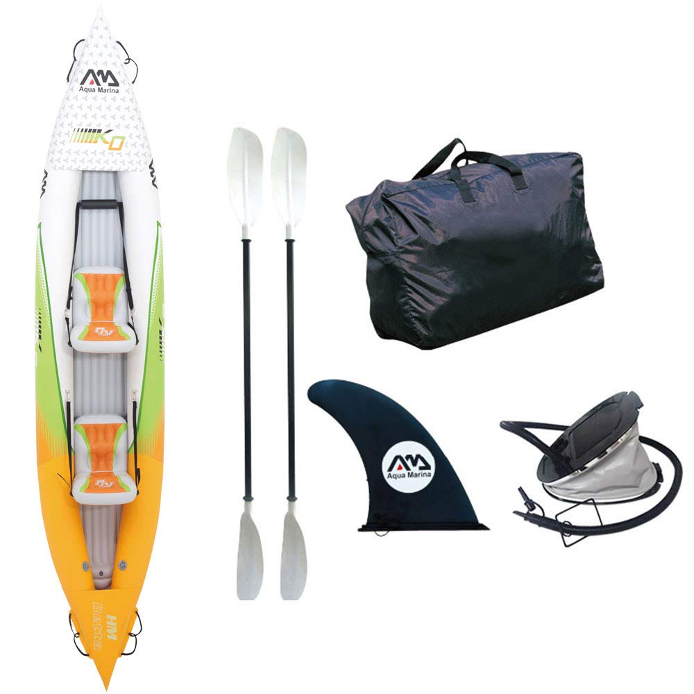 Aqua Marina Betta HM-K0 2 Persons Inflatable Kayak, Multicolor