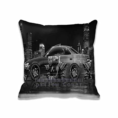 Popular Home Decoration Toyota Mark2 JZX90 JDM Samurai Aerography Car  Pillow Case/Copricuscini E Federe