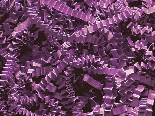 Pack of 1, Plum Crinkle Cut Paper Shred 40 Lb Spring-Fill Shred for Baskets, Basket Boxes, Bags, Containers & Nested Boxes by Generic