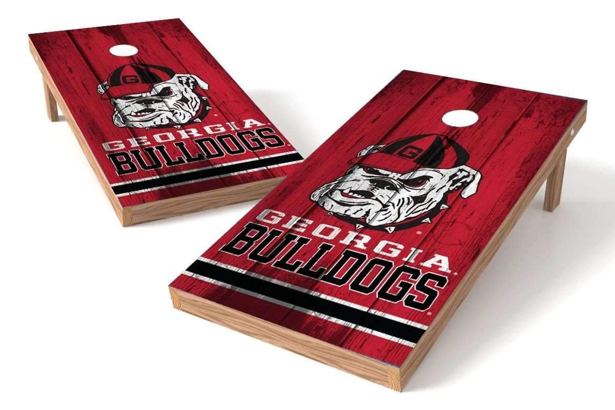 PROLINE NCAA College 2' x 4' Georgia Bulldogs Cornhole Board Set - Vintage by PROLINE