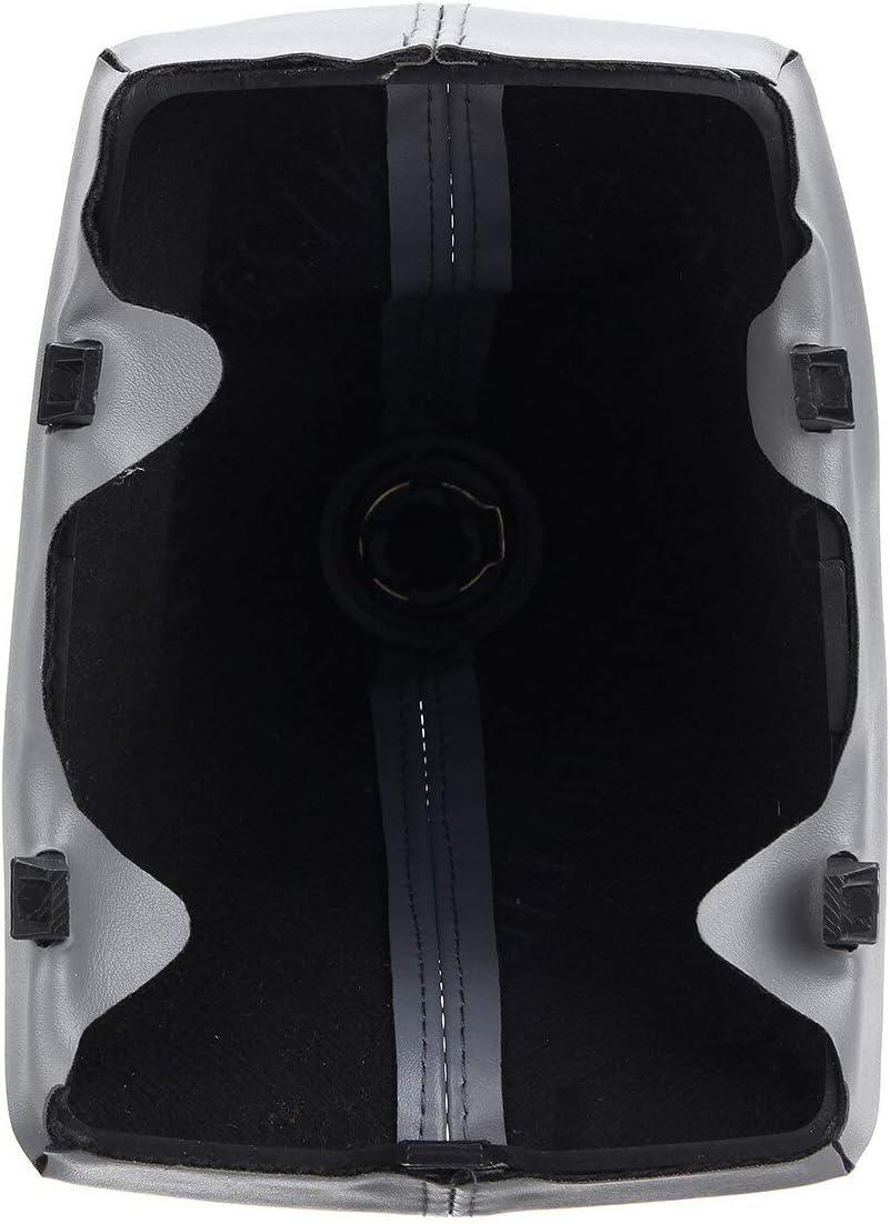 YONGYAO 6-Gang-Schaltknauf Gaitor Boot Puer F/ür Audi A4 S4 B8 8K S-Line 2007-2015