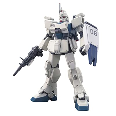 Bandai Hobby #155 HGUC Gundam Ez8 Model Kit, 1/144 Scale: Toys & Games