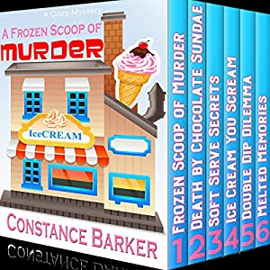 A Frozen Scoop of Murder: The Bundle Edition, Books 1-6  Audiobook